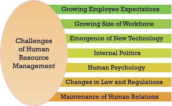 Challenges of Human Resource Management (HRM)