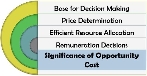 Significance of Opportunity Cost
