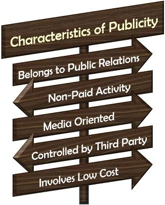 Characteristics of Publicity