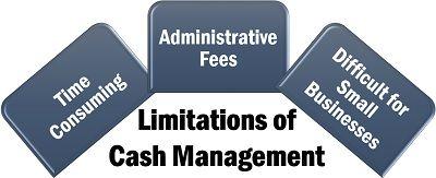 Limitations of Cash Management