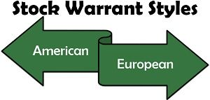 Stock Warrant Styles