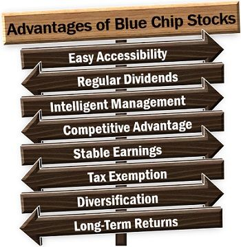 Advantages of Blue Chip Stocks