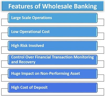 Features of Wholesale Banking