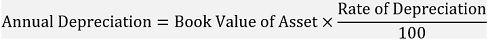 Written Down Value Method