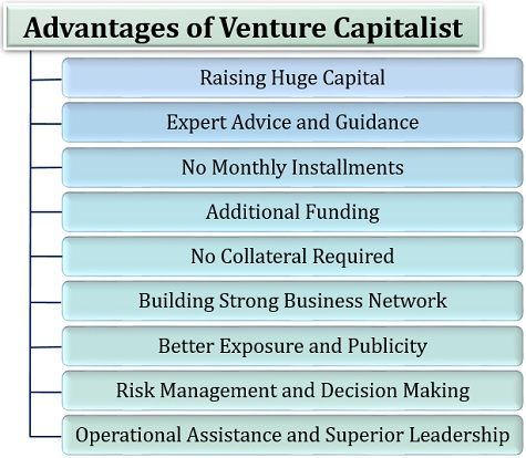 Advantages of Venture Capitalist