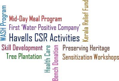 Havells CSR Activities