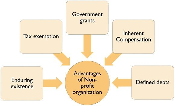 advantages of non-profit organization