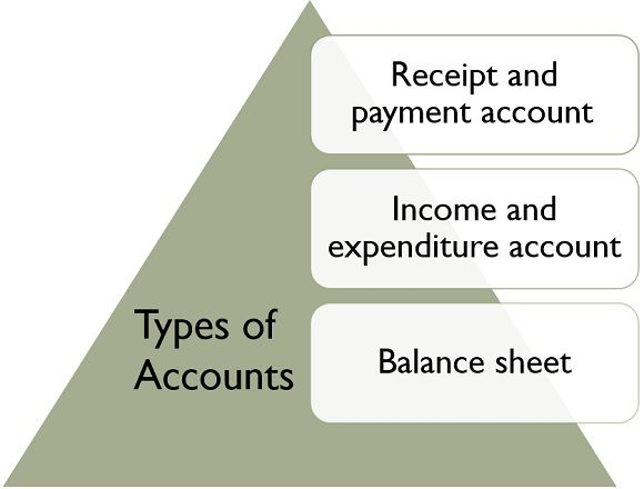 types of accounts in a non-profit organization