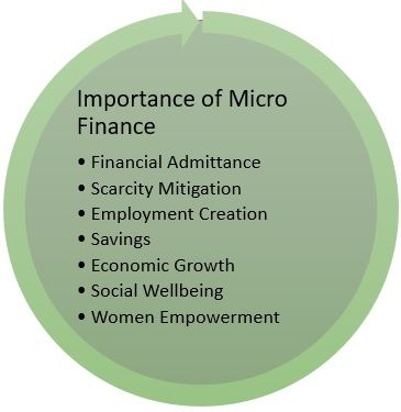 Importance of micro finance