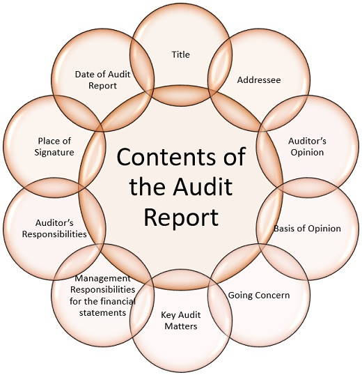 contents of an audit report