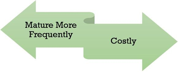 disadvantages of short term financing